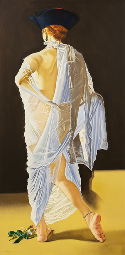 Anthony Christian, 'Lady in white', 2016