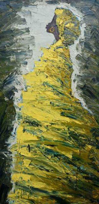 Ablade Glover, 'Green Profile', 2014