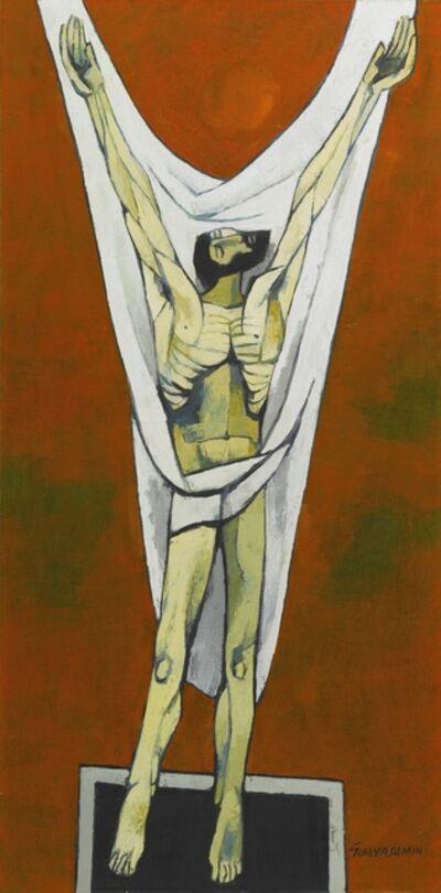 Oswaldo Guayasamín, 'Crucifixion', 1970