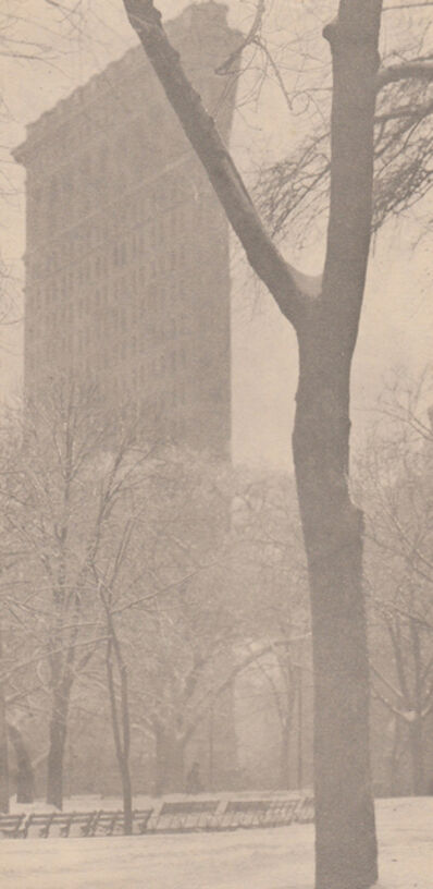 Alfred Stieglitz, 'Flat-iron', 1903