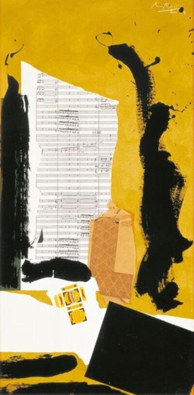 Robert Motherwell, 'Stravinsky Spring', 1974 -1975