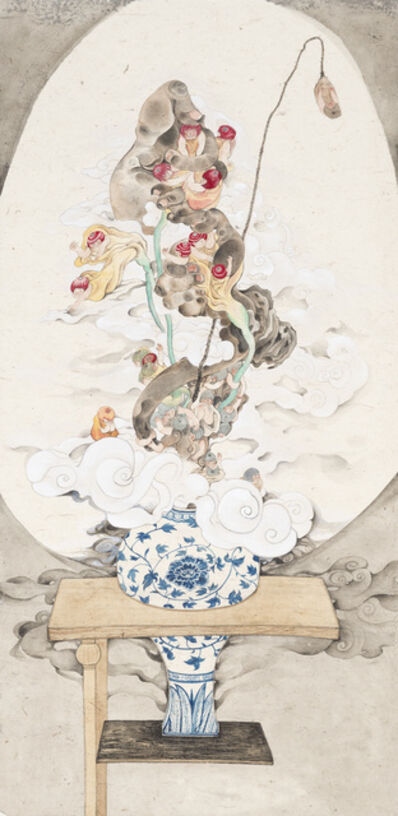 Chen Wen-Li, 'The Vase on Shelves', 2015