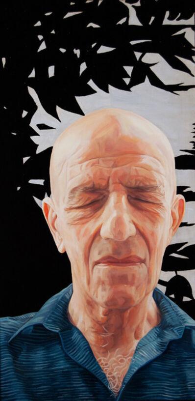 Brenda Zlamany, 'Portrait #108 (Alex Katz)', 2010-2011