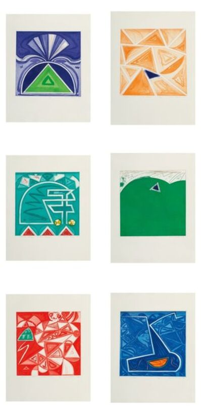 Gordon House, 'Group of Six works, from Welsh Portfolio', 1984