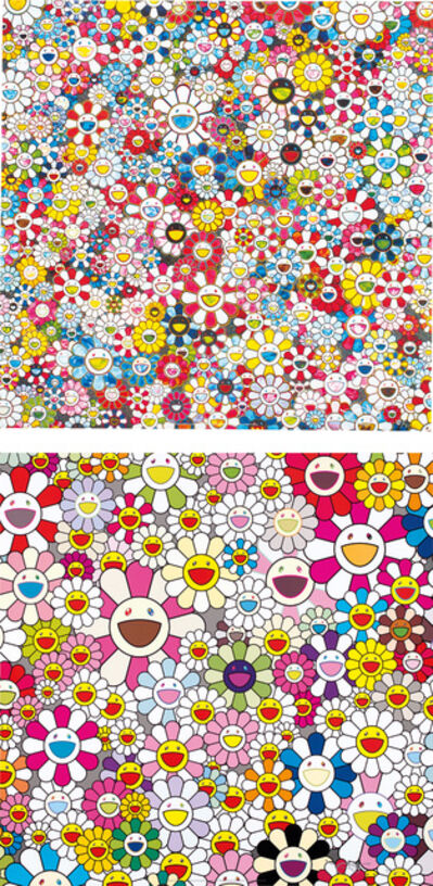 Takashi Murakami, 'Flowers Blossoming in this World and the Land of Nirvana; and The Future will Be Full of Smile! For Sure!', 2013