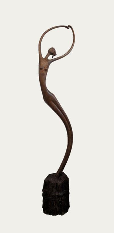 Ruth Bloch, 'Dancer with Hair '