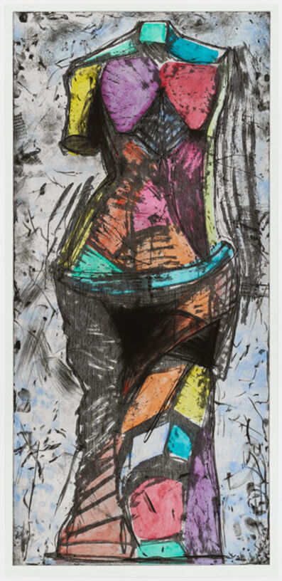 Jim Dine, 'The Oil of Gladness', 1988
