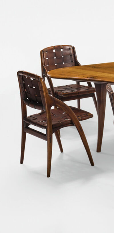 Wharton Esherick, 'Pair of Side Chairs', 1958