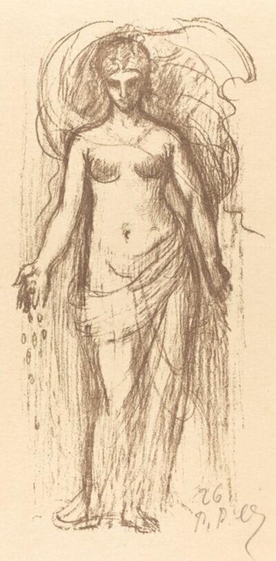 Pierre Puvis de Chavannes, 'Study of a Woman (Abundance)', 1895