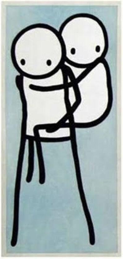 Stik, 'Onbu Piggy Back (Blue)', 2013