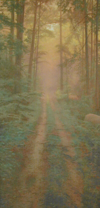Scott Prior, 'Dirt Road in Fog', 2004