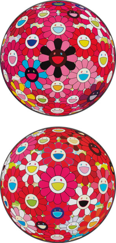 Takashi Murakami, 'Comprehending the 51st Dimension; and There is Nothing Eternal in this World That is Why You are Beautiful', 2014