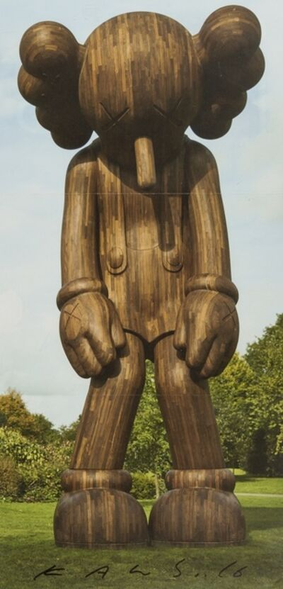 KAWS, 'A signed invitation to 'KAWS: Yorkshire Sculpture Park'', 2016