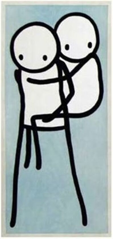 Stik, 'STIK ONBU (PIGGY BANK) BLUE AP LIMITED EDITION', 2013