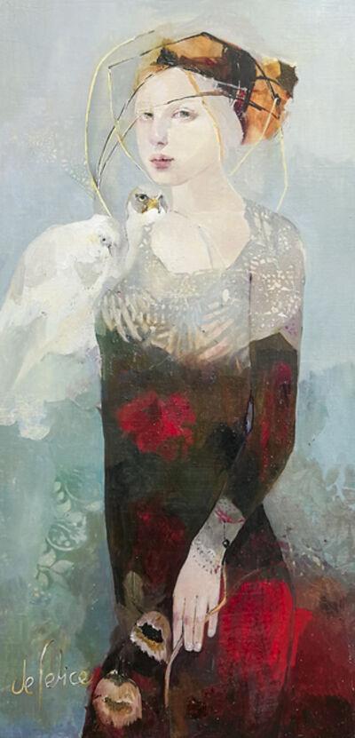 Françoise de Felice, 'La dame des buis', 2018
