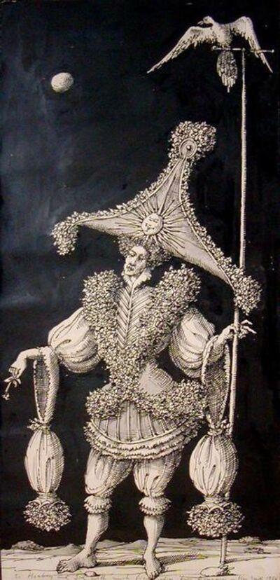 Domenico Gnoli, 'Masquerade', 1956