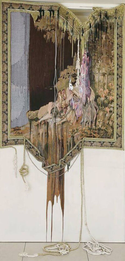 Marium Agha, 'A Courtier in Love - A Two Dimensional Portrait', 2015
