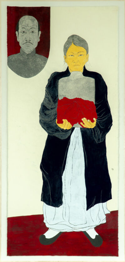 Suknam Yun, 'Portrait of PARK Ja-hye', 2020