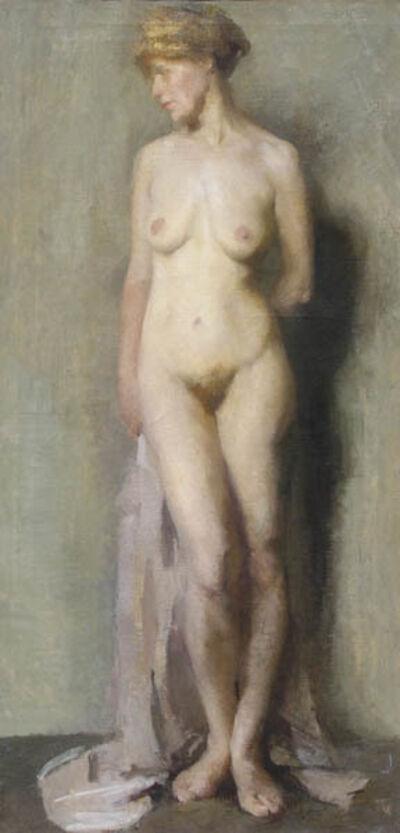 Beatrice Whitney Van Ness, 'Nude with Draperies', ca. 1910