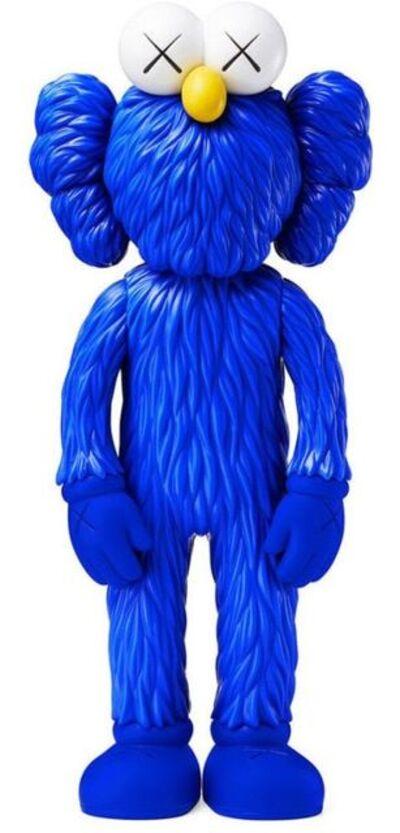 KAWS, 'BFF Vinyl - Blue', 2017