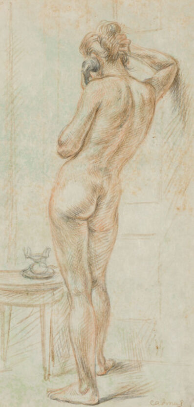 Paul Cadmus, 'Untitled, Standing Woman'
