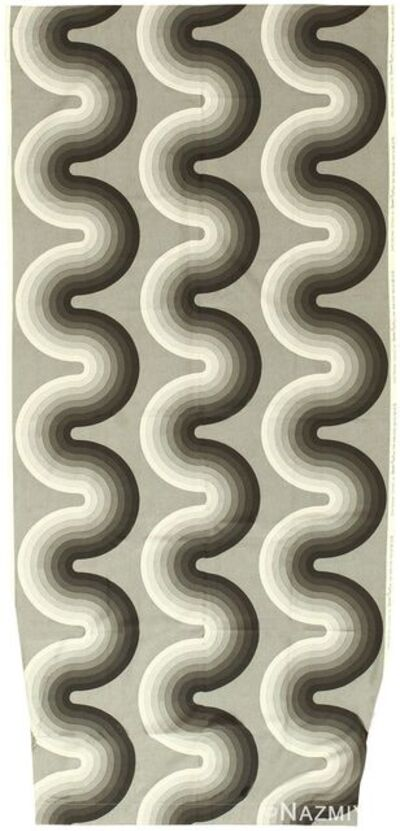 Verner Panton, 'Vintage Kurve Textile', Mid 20th Century