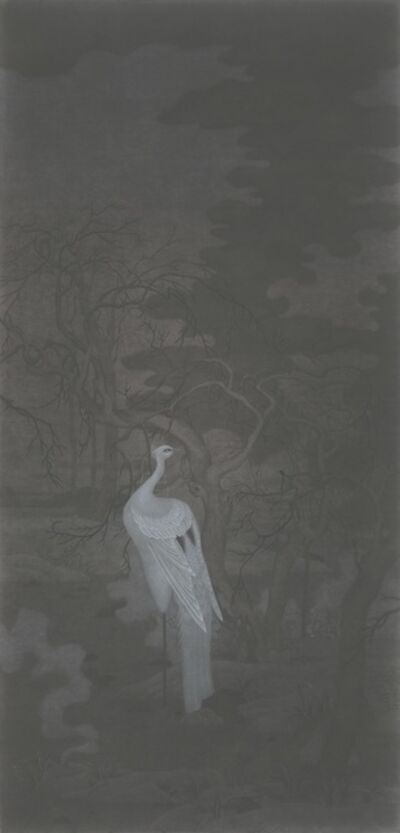 Xiao Xu 肖旭, 'Cool Sylvan Haze 寒林暮霭', 2015