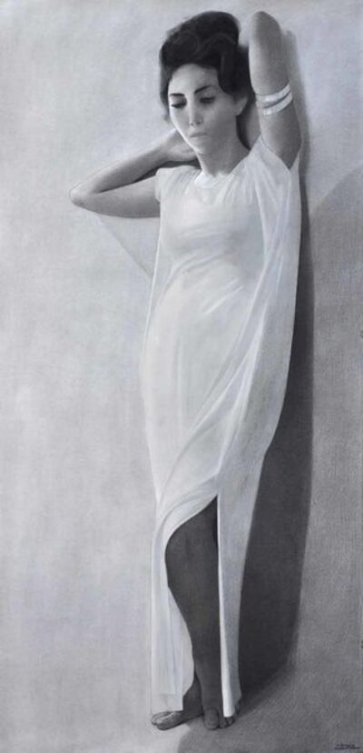 Ibrahim El Dessouki, 'Standing (face)', 2013