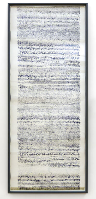 Rosa Barba, 'Isolation of Information (print)', 2015