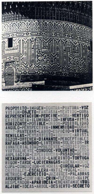 Leandro Katz, 'Transcódigo', 1978