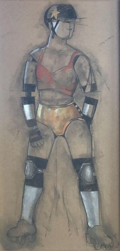 Jann Haworth, 'Mannequin Defector: Cyborg Derby Jammer', 2019