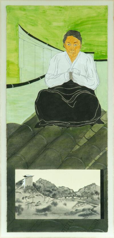 Suknam Yun, 'Portrait of KANG Ju-ryong', 2020