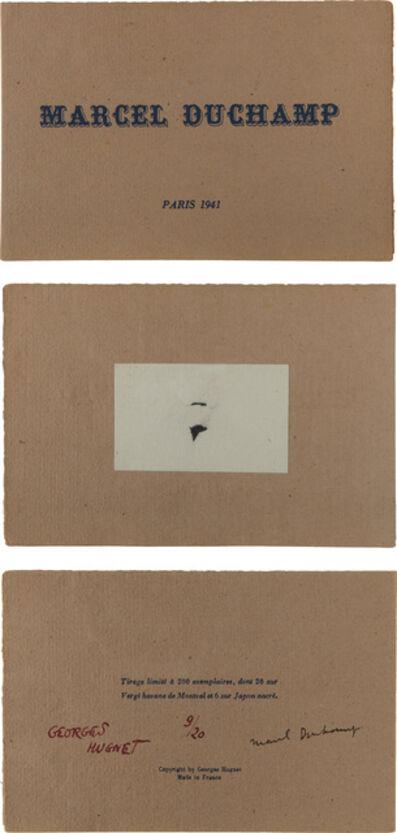 Marcel Duchamp, 'Mustache and Beard of L.H.O.O.Q.', 1941