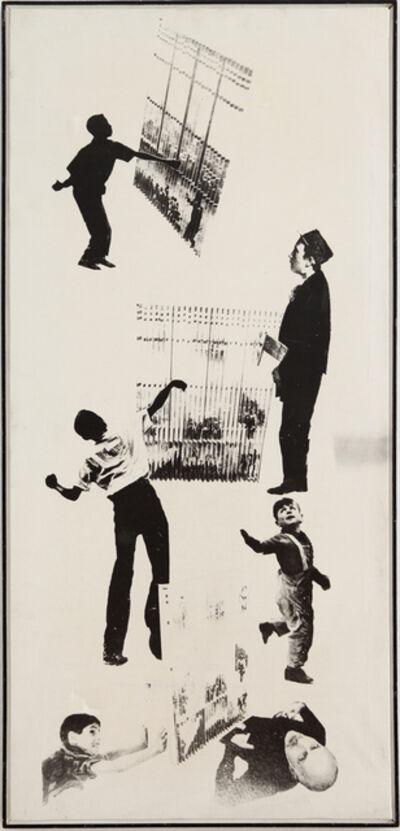 Aldo Tagliaferro, 'Verifica di un'immagine fusibile ', 1970