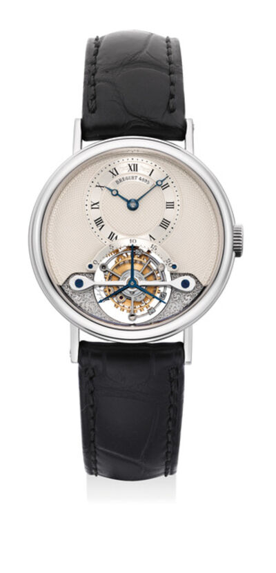 Breguet, 'A fine and attractive white gold touribillon wristwatch', Circa 2003