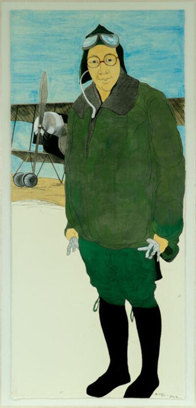 Suknam Yun, 'Portrait of KWON Ki-ok', 2020