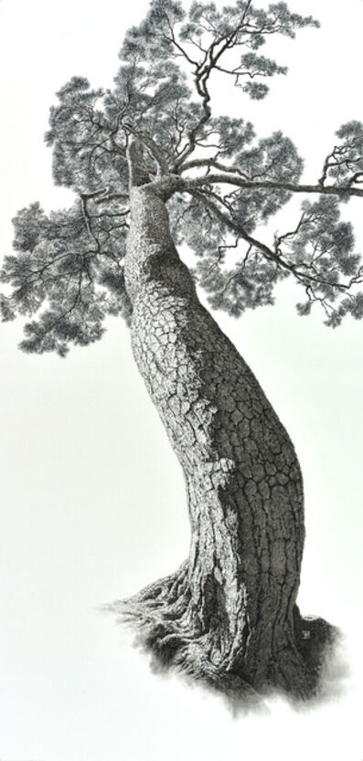 Choi Yeong Geol, 'Auspicious Pine Tree 3', 2014