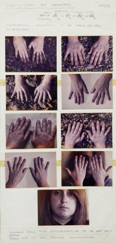 VALIE EXPORT, 'EXTREM / ITÄTEN DES VERHALTENS', 1972