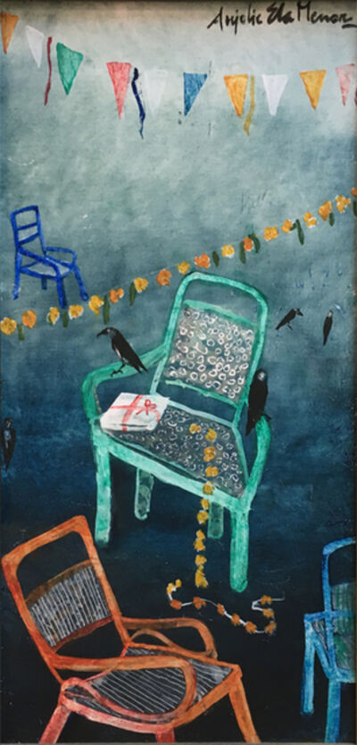 Anjolie Ela Menon, 'After the Party II'