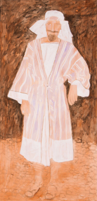 """Bruno Pacheco, '""""Dressed as an arab (study)""""'"""