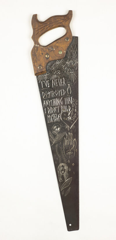 Cat King, 'I've Never Destroyed Anything', 2015