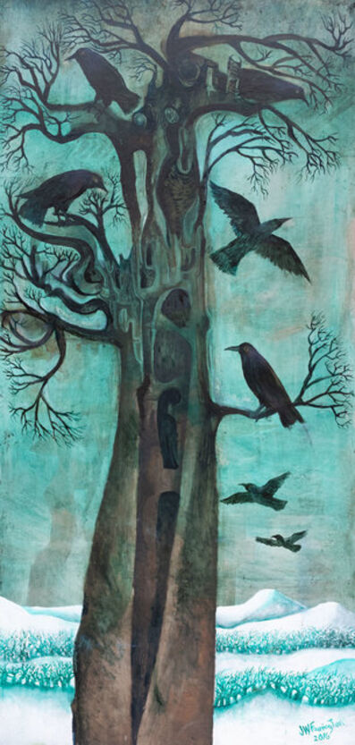 John Farrington, 'Winter Birds', 2016