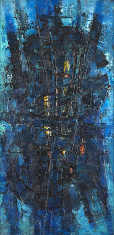 Frank Avray Wilson, 'Blue Constellation', ca. 1954
