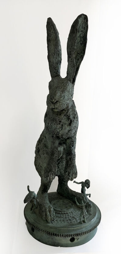 Sophie Ryder, 'Hare with Dancers', 1998
