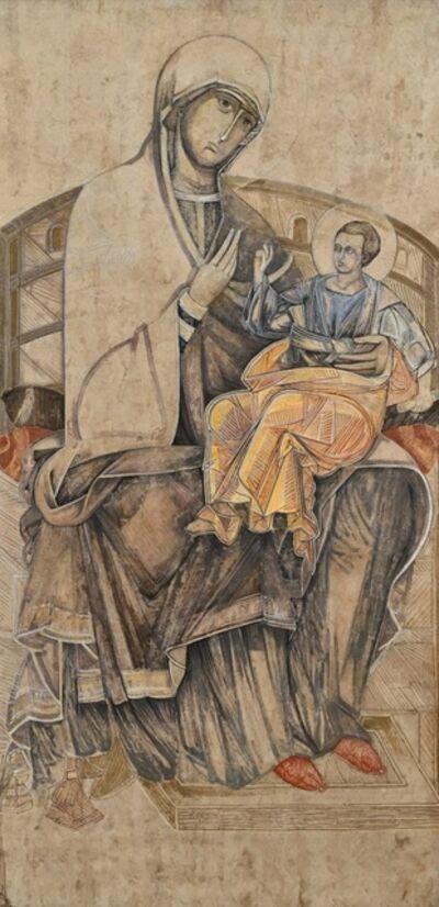 Esther Gonzalez, 'Virgen Bizantina', n/a