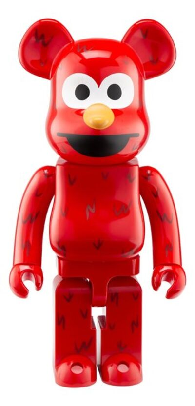 BE@RBRICK X Sesame Street, 'Elmo 1000%', 2016