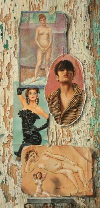 Aaron Bohrod, 'Models', 1990