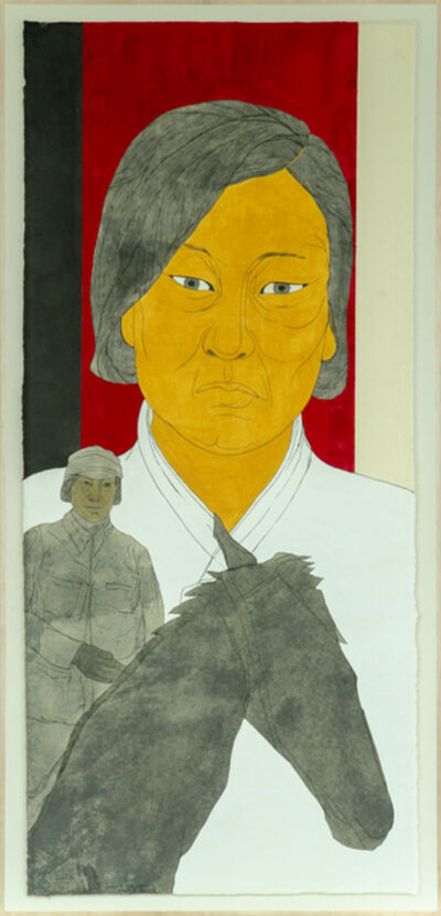 Suknam Yun, ' Portrait of Heroine KIM Myung-si', 2020