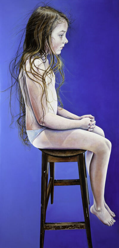 Ishbel Myerscough, 'Bella seated', 2015