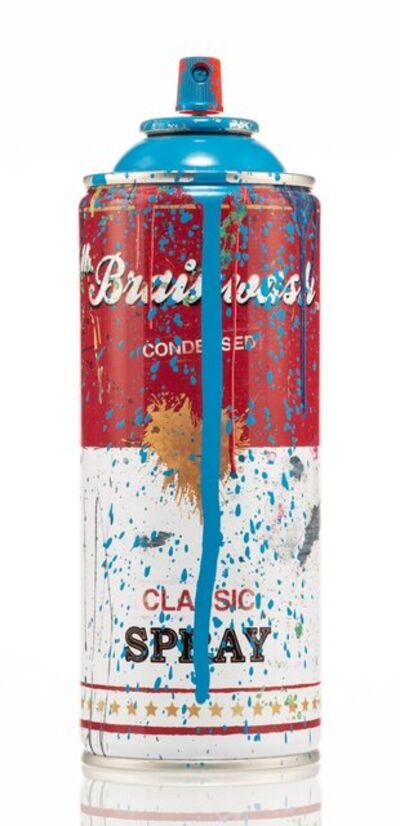 Mr. Brainwash, 'Spray Can (Blue)', 2013